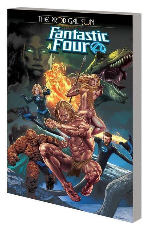 Marvel comics fantastic four tpb prodigal sun 20190730