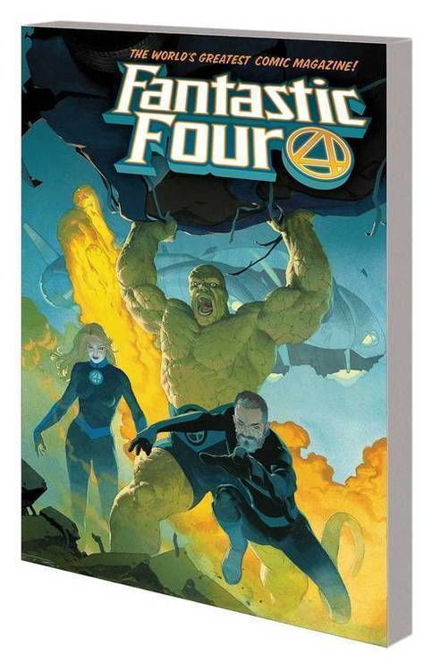 Fantastic Four TPB Vol 01 Fourever