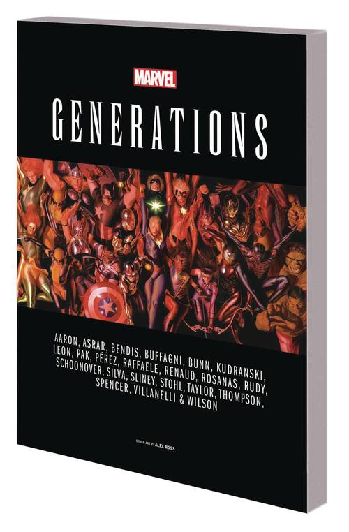 Marvel comics generations tpb 20180329