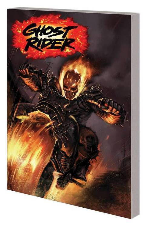 Marvel comics ghost rider tpb book 01 war for heaven 20181025