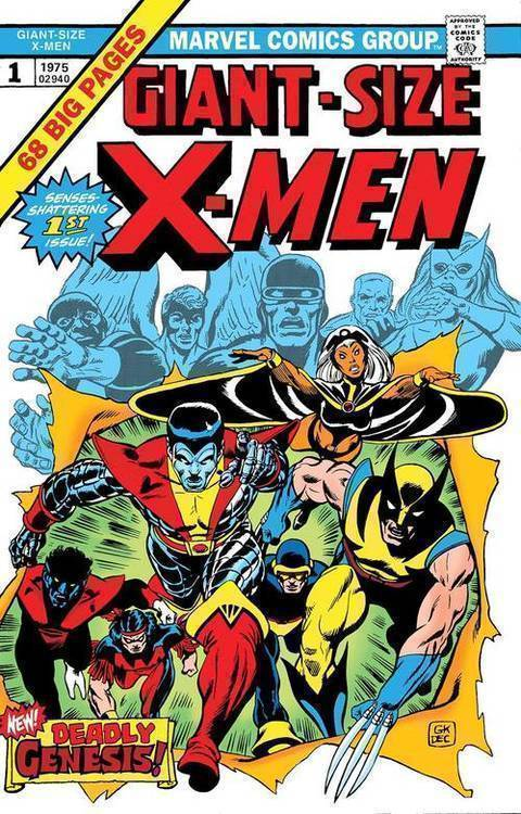Giant Sized X-Men #1 Facsimile Edition