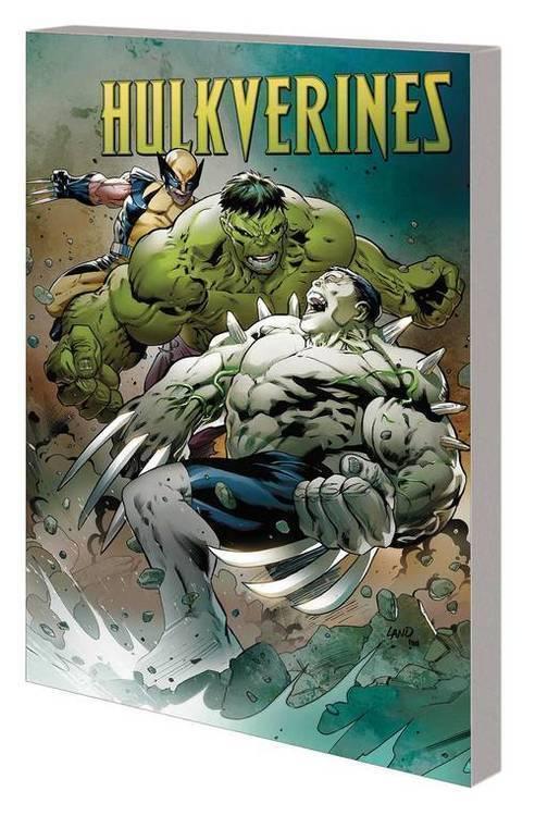 Marvel comics hulkverines tpb 20190225
