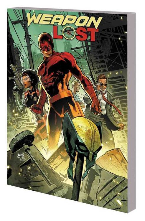 Marvel comics hunt for wolverine tpb weapon lost 20180830
