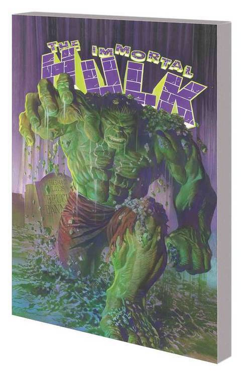 Marvel comics immortal hulk tpb volume 01 or is he both 20180801