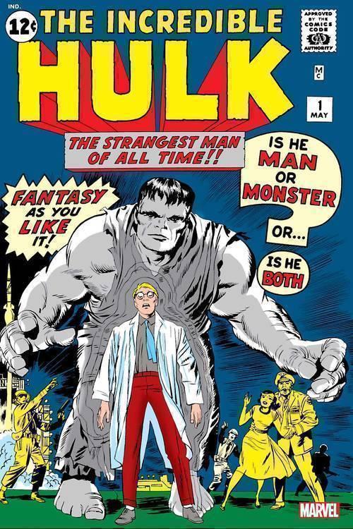Incredible Hulk #1 Facsimile Edition