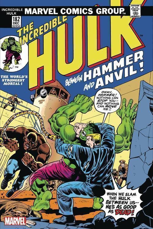 Marvel comics incredible hulk 182 facsimile edition 20191227