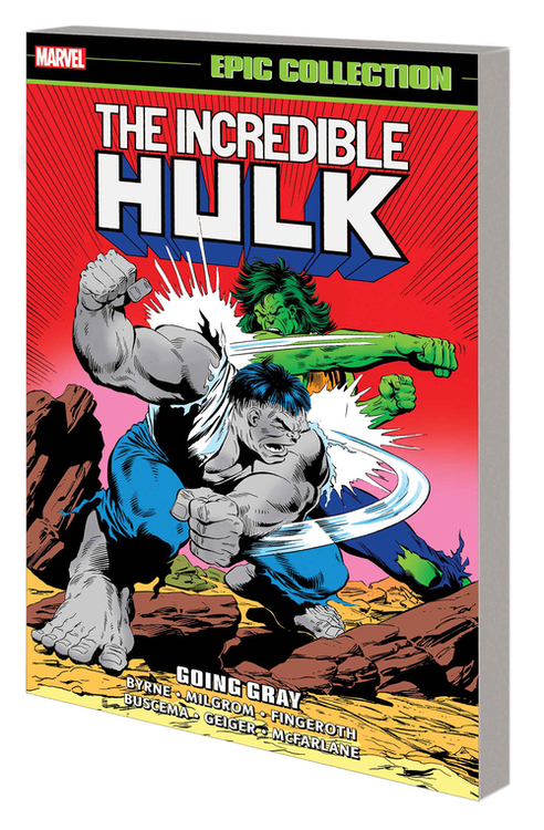 Marvel comics incredible hulk epic collection tpb going gray 20200826