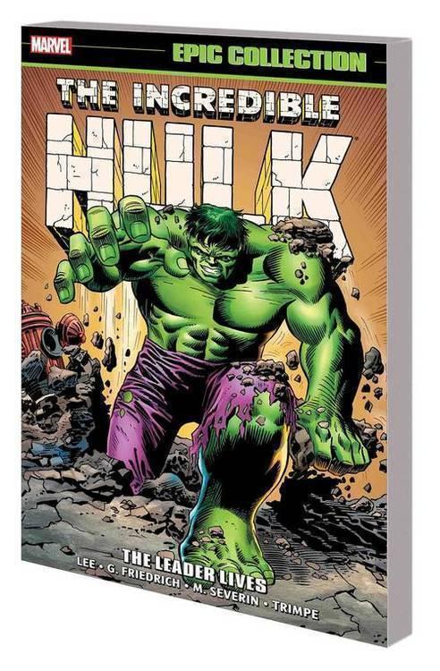 Marvel comics incredible hulk epic collection tpb leader lives 20180801