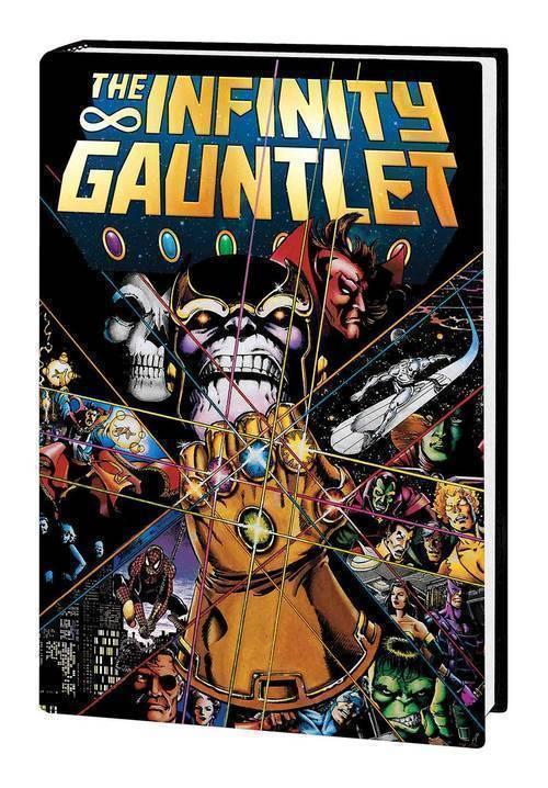 Marvel comics infinity gauntlet hardcover deluxe edition 20180801