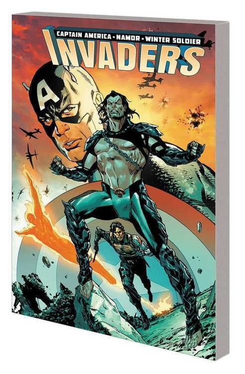 Marvel comics invaders tpb volume 01 war ghost 20190424