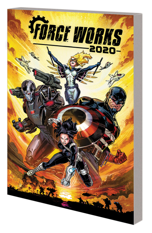 Iron Man 2020 Robot Revolution TPB Force Works
