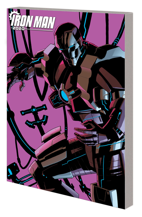 Marvel comics iron man 2020 tpb robot revolution 20200627