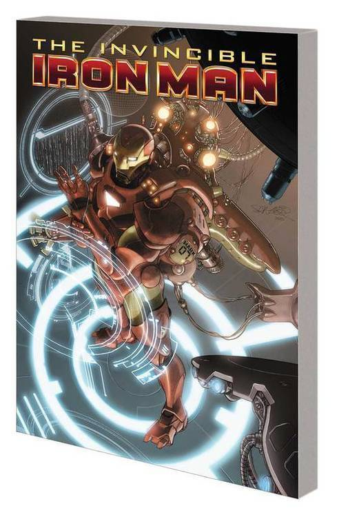Marvel comics iron man by fraction larroca complete collection tpb vol 01 20181130