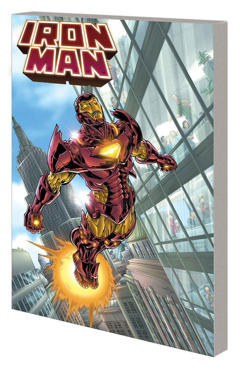 Iron Man by Grell Complete Collection TPB