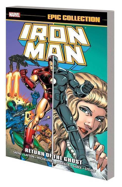 Marvel comics iron man epic collection tpb return of ghost 20181130