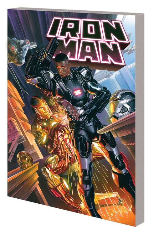 Iron Man TPB Volume 02 Books Korvac II Overclock