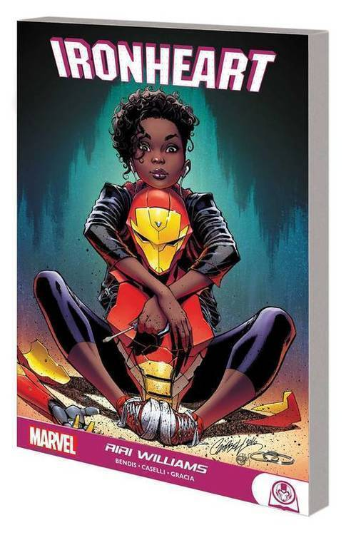 Marvel comics ironheart graphic novel tpb riri williams 20190626