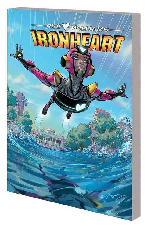 Marvel comics ironheart tpb vol 01 those with courage 20190327
