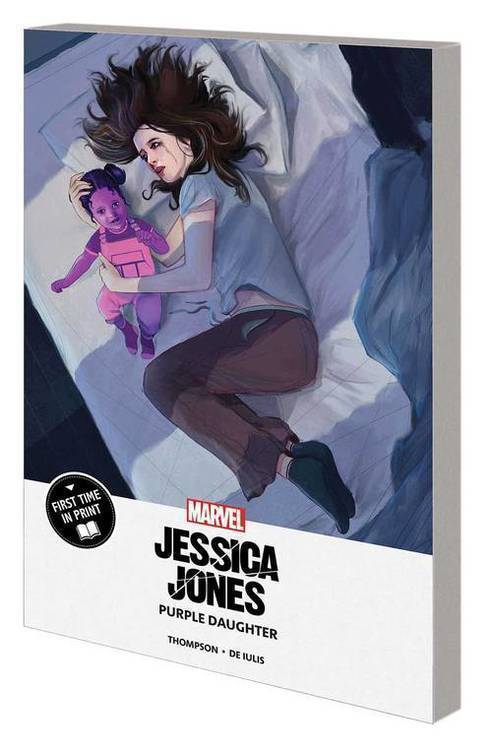 Jessica Jones MPGN TPB Purple Daughter
