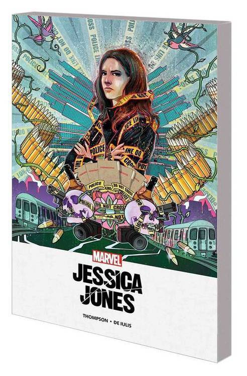 Marvel comics jessica jones mpgn tpb blind spot 20180801