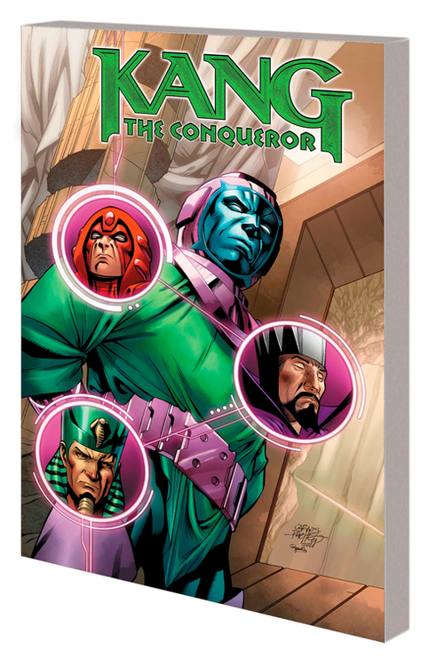 Marvel comics kang the conqueror tpb only myself left to conquer 20210923