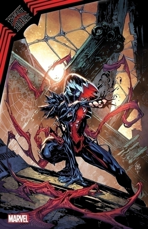 Marvel comics king in black gwenom vs carnage 20201028