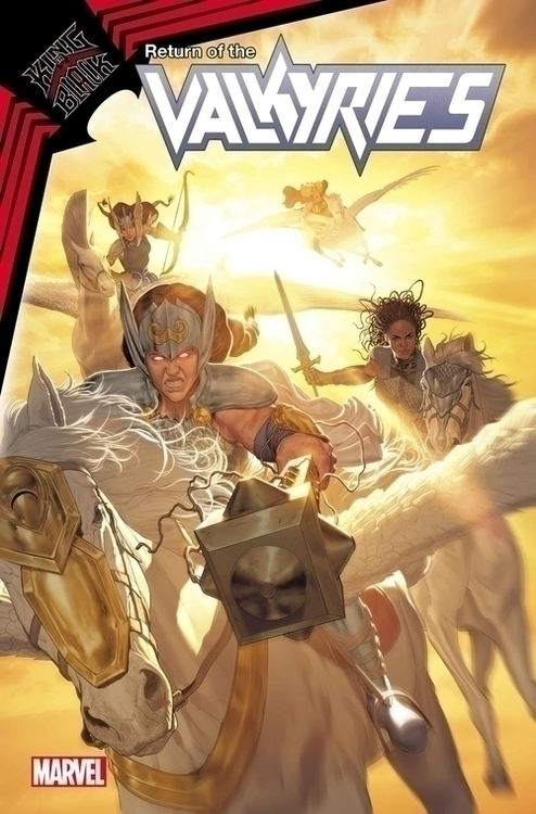 Marvel comics king in black return of valkyries 20201028