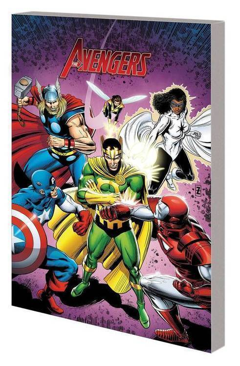 Marvel comics legends of marvel tpb avengers 20191127