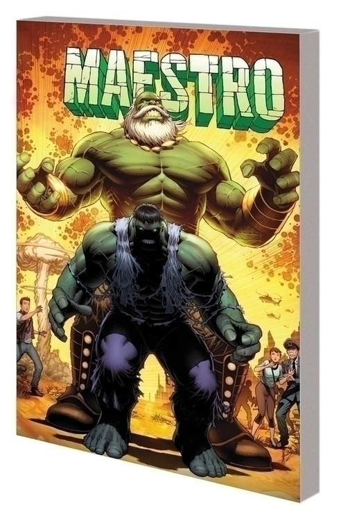 Marvel comics maestro tpb symphony in gamma key 20201028