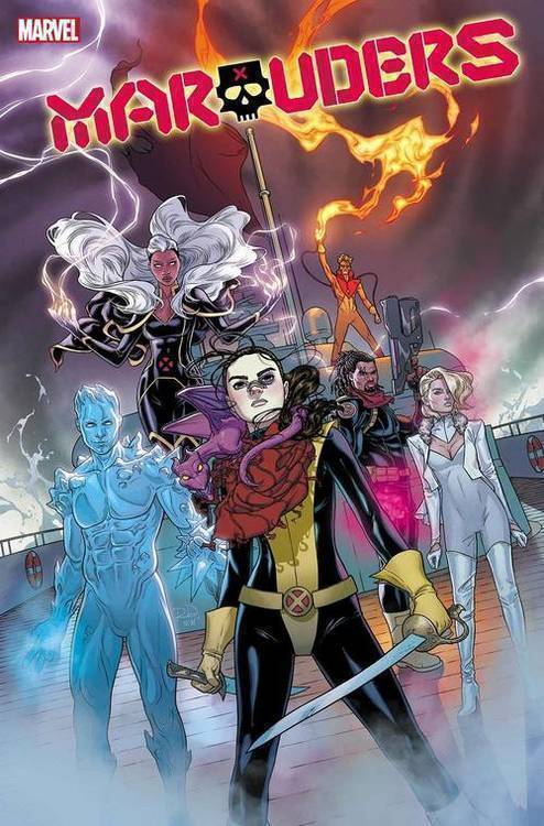 Marvel comics marauders 20190730