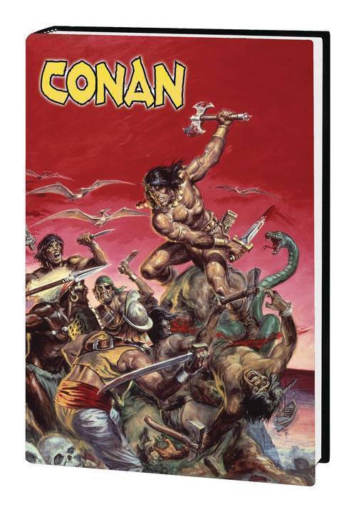 Marvel comics marvel art of savage sword of conan hardcover mature 20200128
