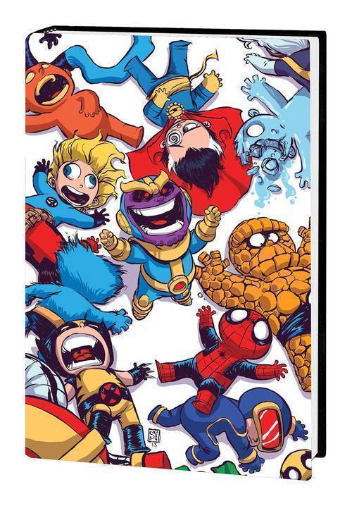 Marvel comics marvel art of skottie young hardcover 20181130