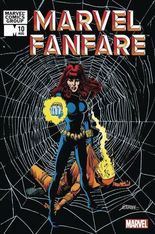 Marvel comics marvel fanfare 10 facsimile edition 20200128