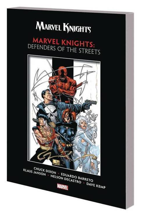 Marvel comics marvel knights by dixon barreto tpb defenders of streets 20180701