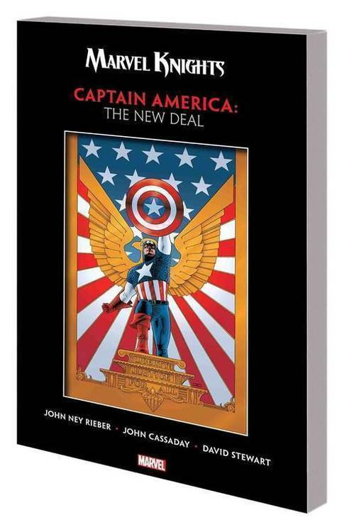 Marvel comics marvel knights captain america rieber cassaday tpb new deal 20180801
