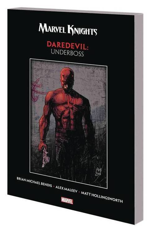 Marvel comics marvel knights daredevil by bendis maleev tpb underboss 20180701