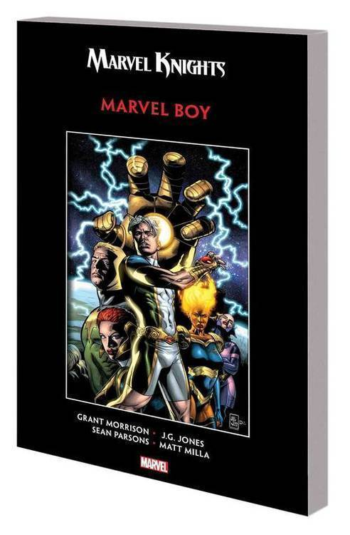 Marvel comics marvel knights marvel boy by morrison jones tpb 20180830
