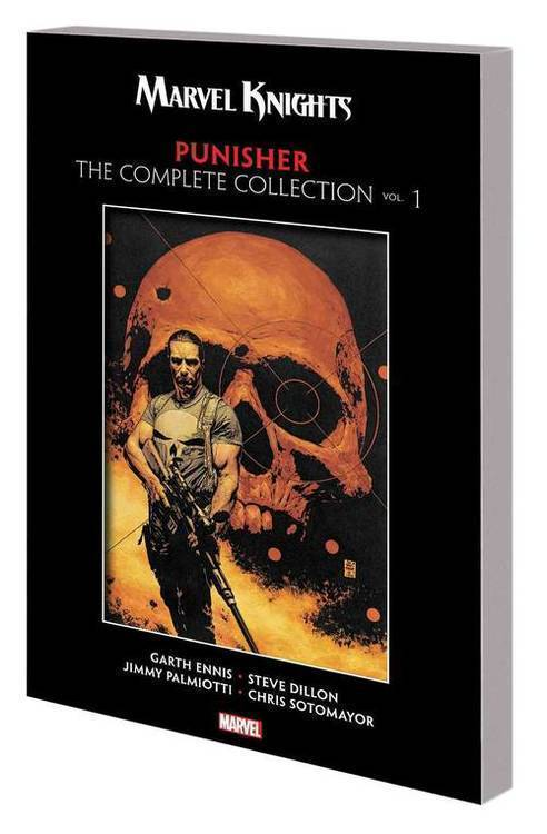 Marvel comics marvel knights punisher by ennis complete collection tpb vol 20180830