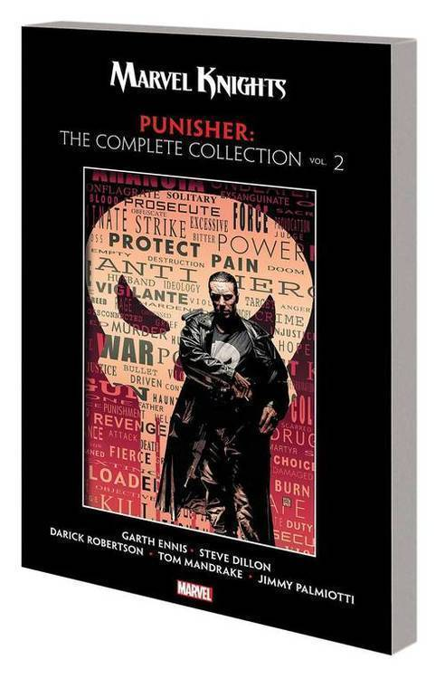 Marvel comics marvel knights punisher by ennis complete collection tpb vol 20181130