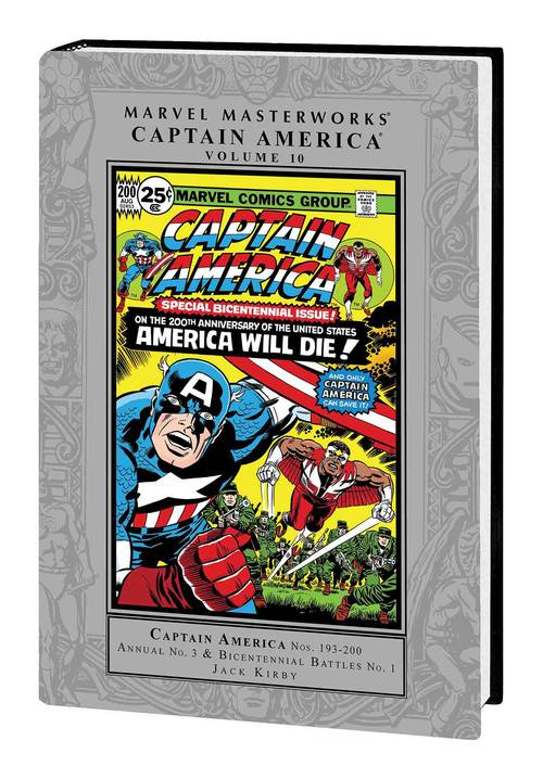 Marvel comics marvel masterworks captain america hardcover vol 10 20171231