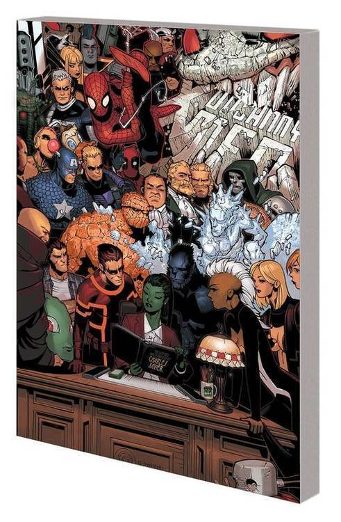 Marvel comics marvel monograph tpb art of chris bachalo 20191127