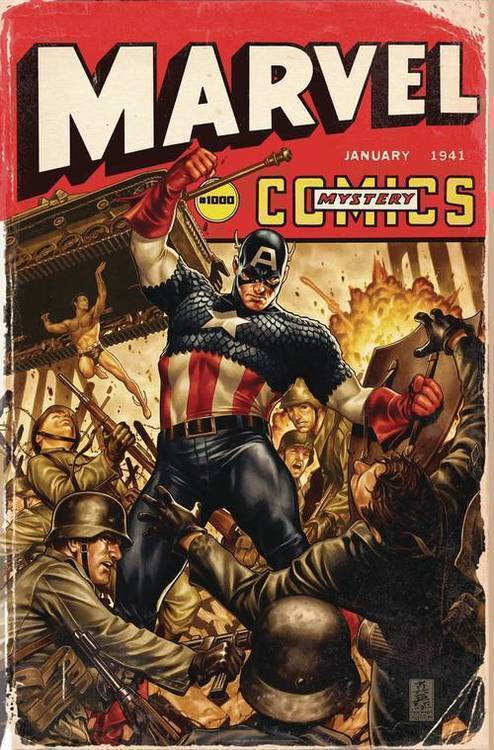 Marvel comics marvel monograph tpb art of mark brooks 20200128