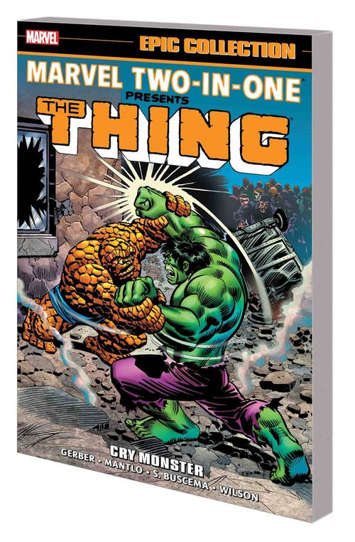 Marvel comics marvel two in one epic collection tpb cry monster 20180430