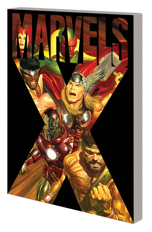 Marvel comics marvels x tpb 20200826