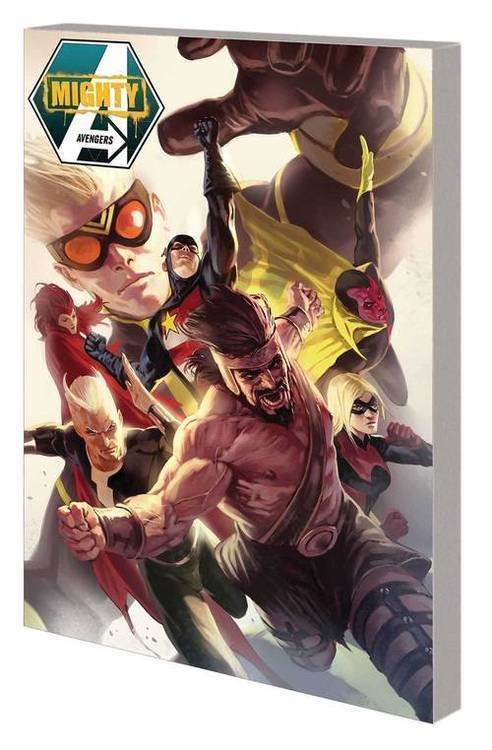 Mighty Avengers By Slott TPB Complete Collection