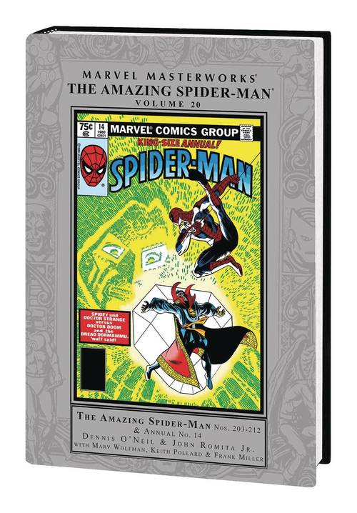 Marvel comics mmw amazing spider man hardcover vol 20 20180530