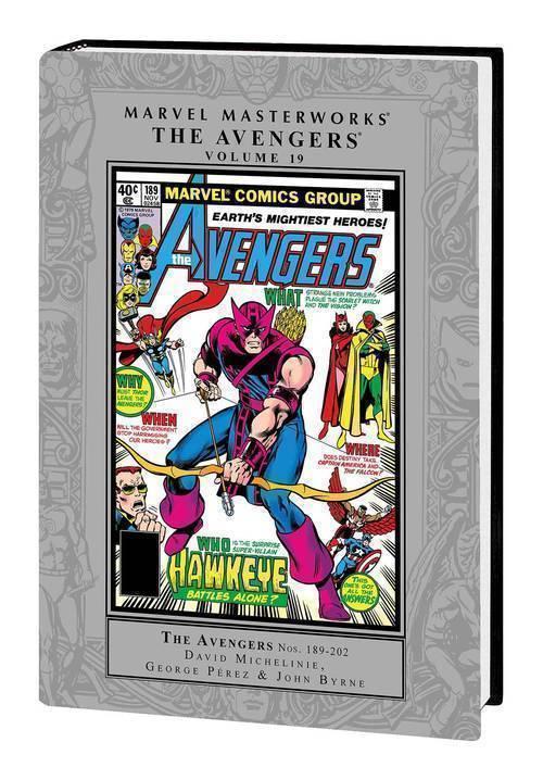 Marvel comics mmw avengers hardcover volume 19 20180928