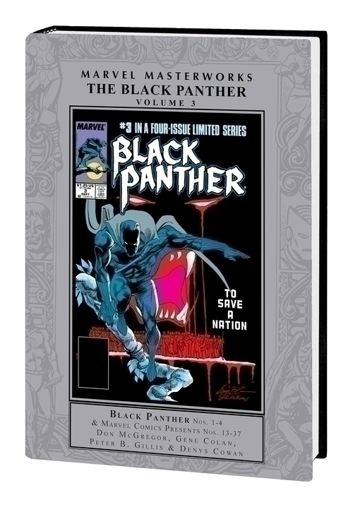 MMW Black Panther Hardcover Volume 03