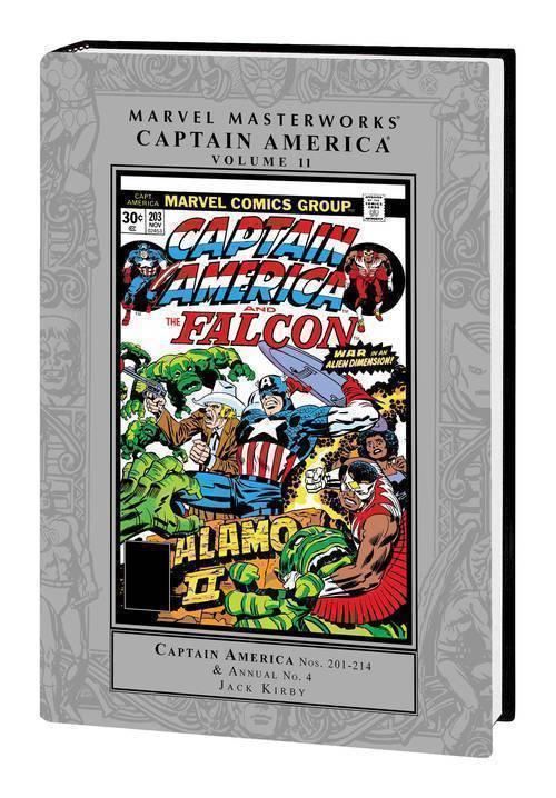 MMW Captain America Hardcover Volume 11