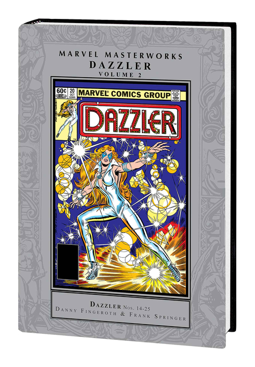 Marvel comics mmw dazzler hardcover volume 02 20200826